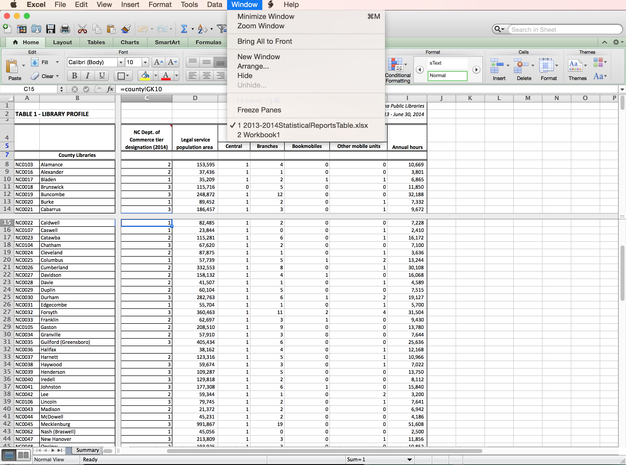 how to add up a column in excel mac