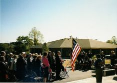 October 1990 dedication of 14 Randolph Street