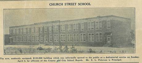 Church Street School 1938