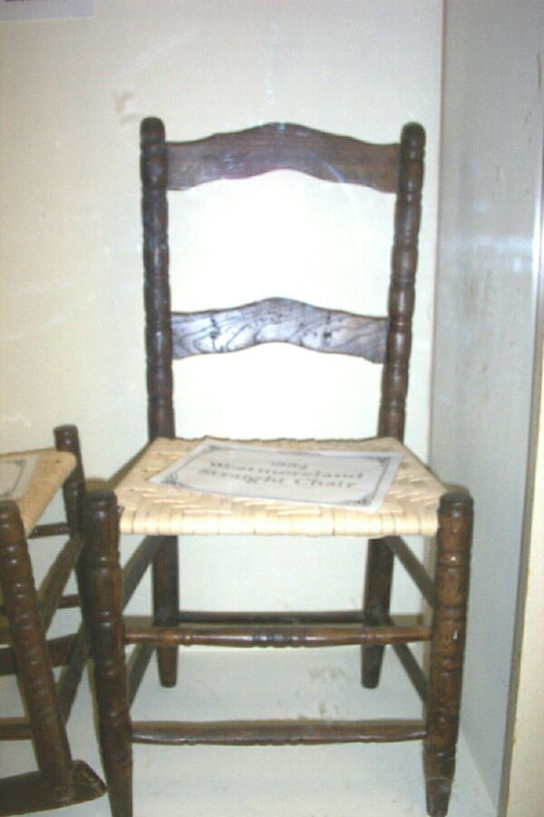 Westmoreland Chairs   Late 1800s